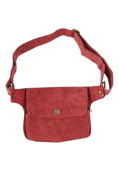 Red Pocket Festival Belt