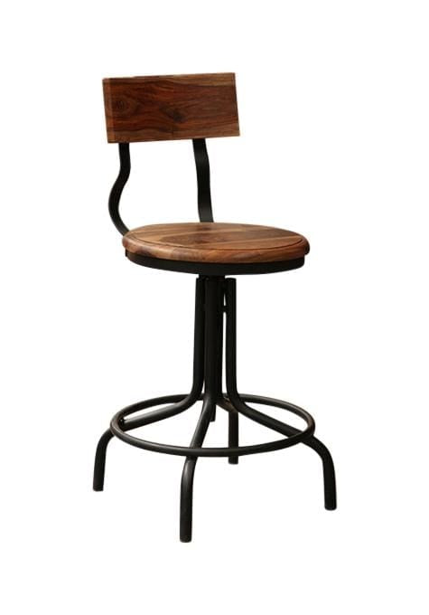 Sheesham French Barstool