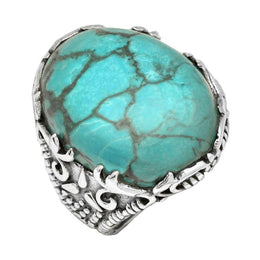 Statement Turquoise Ring