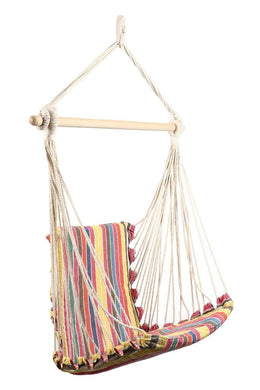 Stripy Hanging Chair Hammock