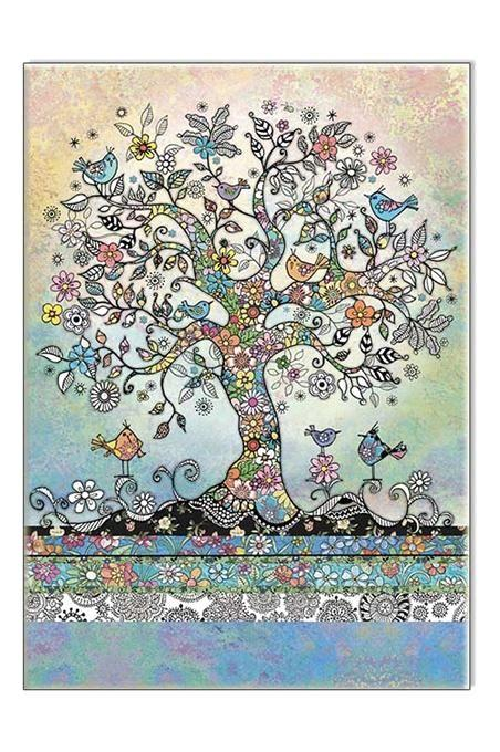 Tree Of Birds Card