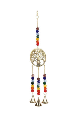 Tree Of Life Hanging Bells