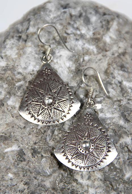 Triangle Hill Tribe Earrings