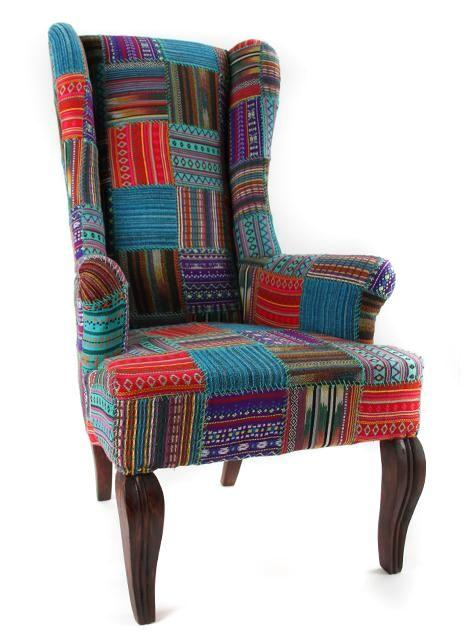 Tribal Patch Director Chair