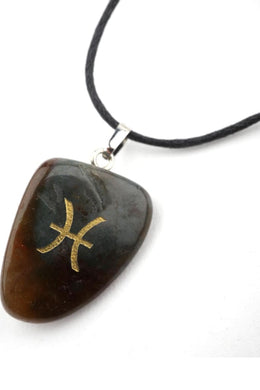 Tumbled Stone Zodiac Necklaces