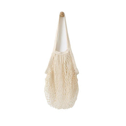 Beehave 100% Cotton Net Tote Bag 'Cream'