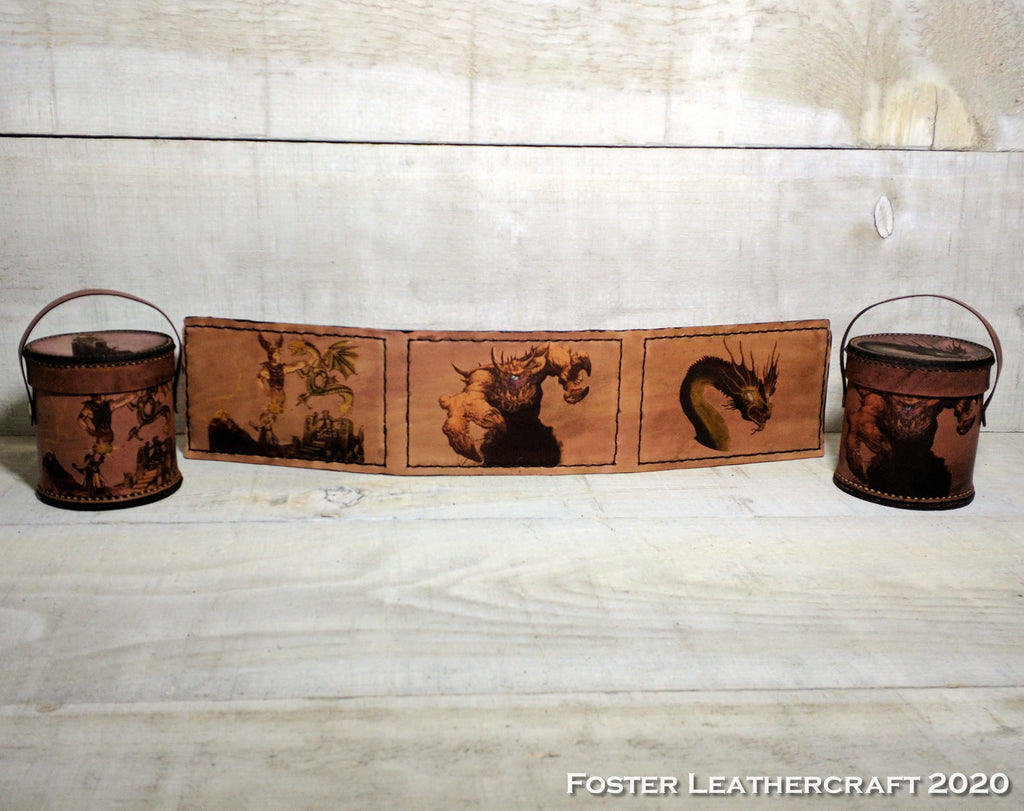 Dieties & Demons DM Screen & Dice Cups