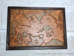 Map, Kingkiller Chronicle