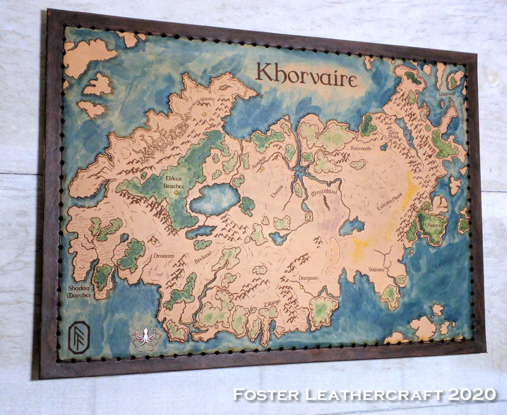 Map, Khorvaire
