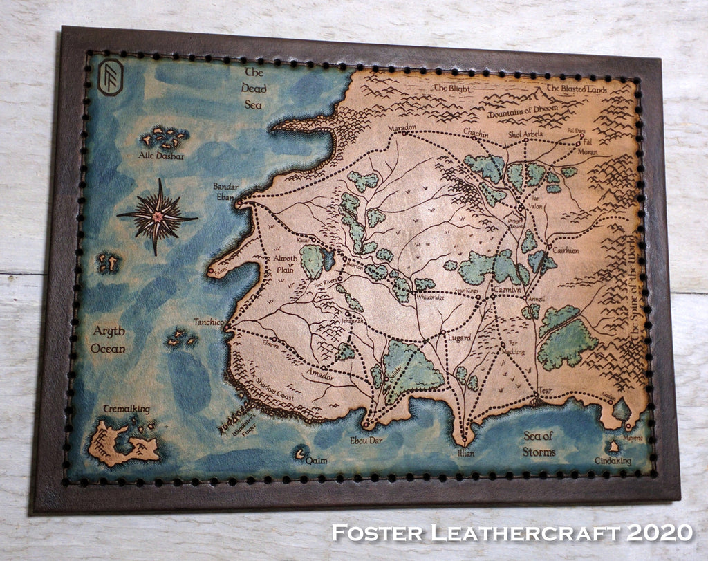 Map, Wheel of Time