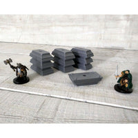 Tabletop Props, Metal Ingots (Set of 10)