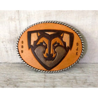 Personalized Leather Buckle