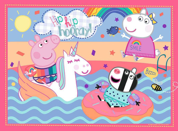 Peppa Pig Puzzle - Unicorn Fun -  My First Floor Puzzle - 16pcs