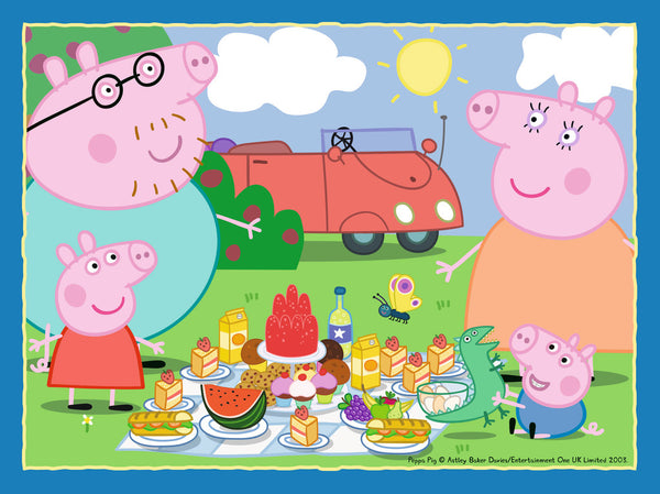 Peppa Pig 4 Puzzles in a Box