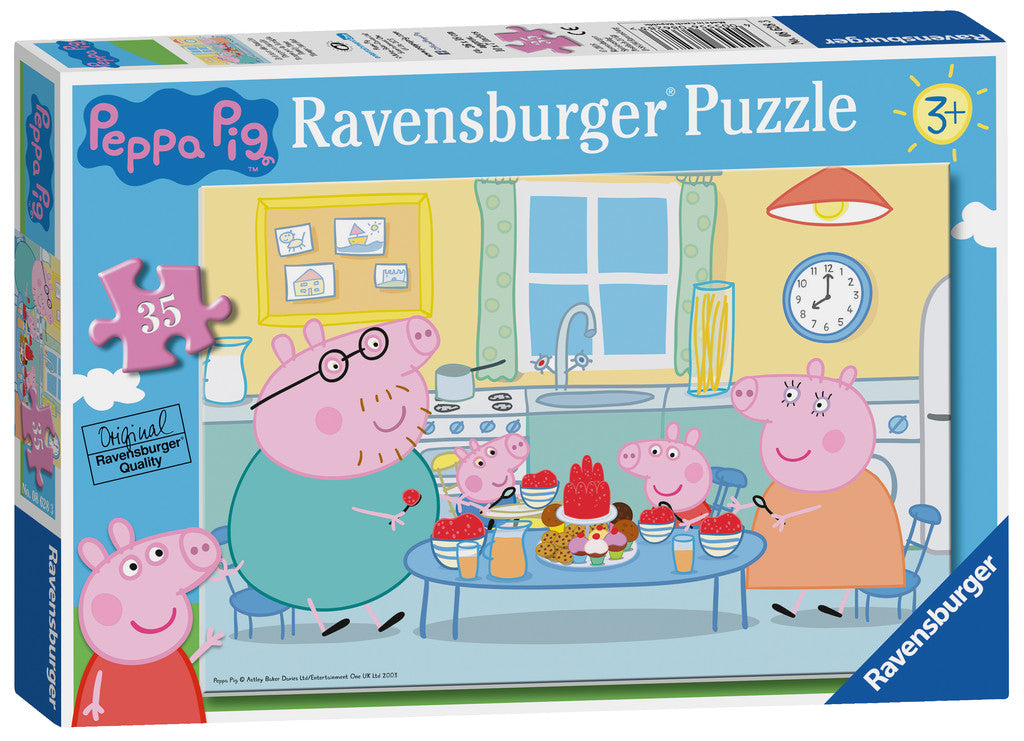 Peppa Pig Puzzle - 35pcs - Family Time