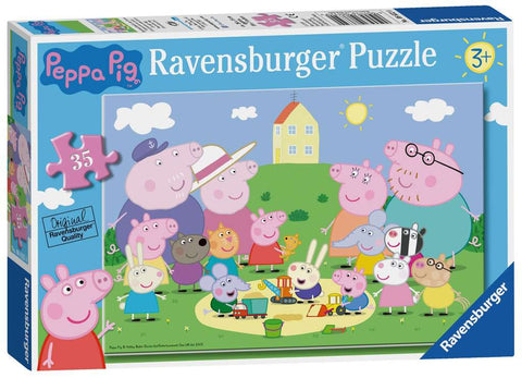 Peppa Pig Puzzle - Fun in the Sun - 35pc