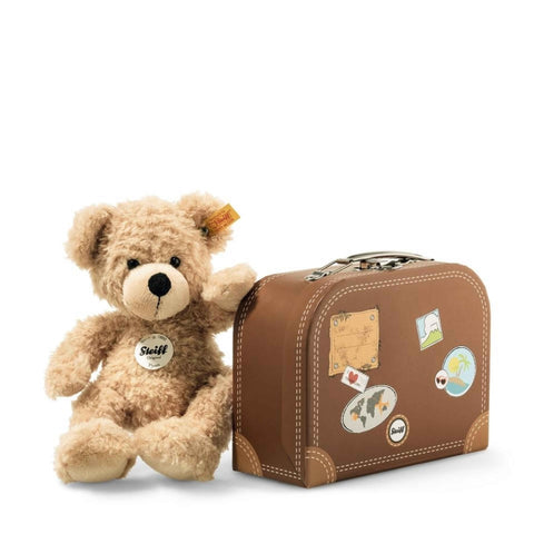 Flynn Teddy Bear in Suitcase - Steiff