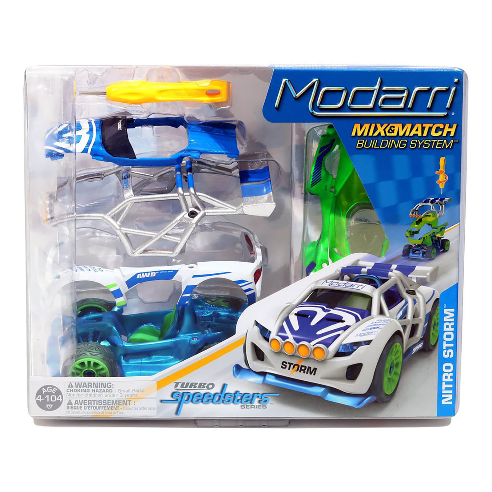 Modarri Nitro Storm Turbo Car
