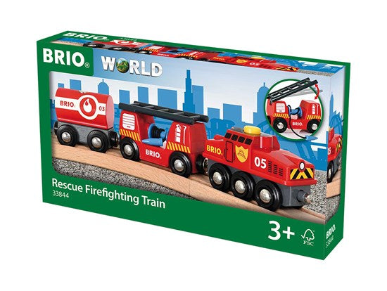 Brio - Rescue Firefighter Train - 33844
