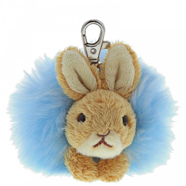 Peter Rabbit Pom Pom - Key Fob - Gund