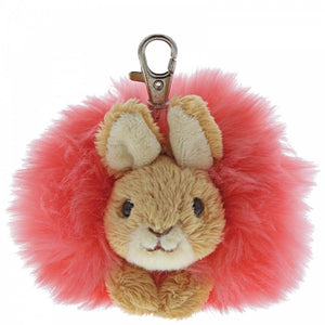Flopsy Pom Pom - Key/Fob - Peter Rabbit - Gund