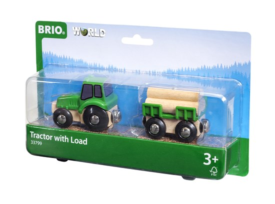 Tractor with Load Train - BRIO - 33799