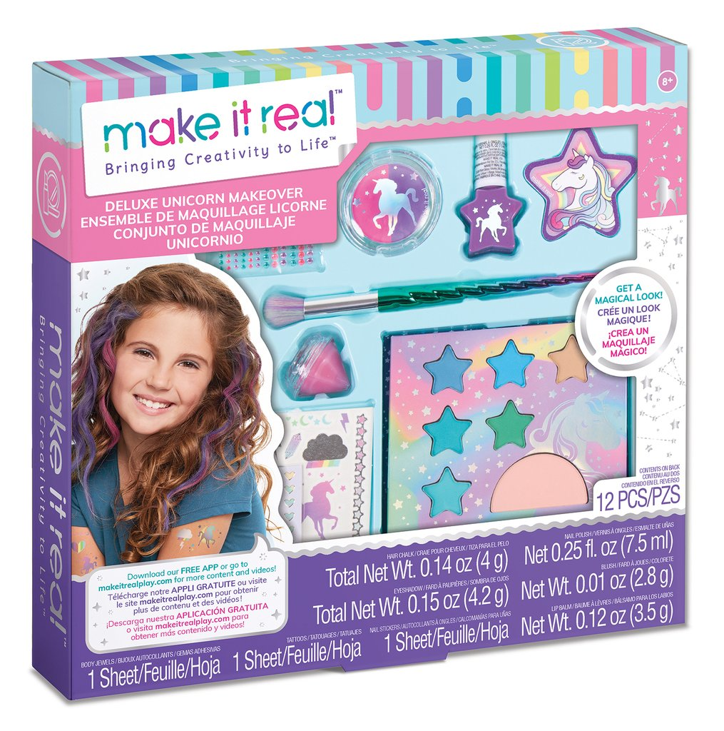 Deluxe Unicorn Makeover Set - Make It Real