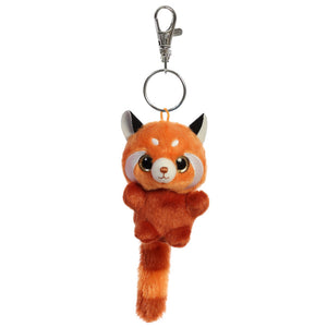 Happy Red Panda - Keychain Clip