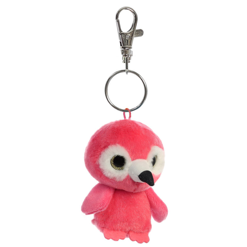 Mango The Flamingo - Keychain Clip