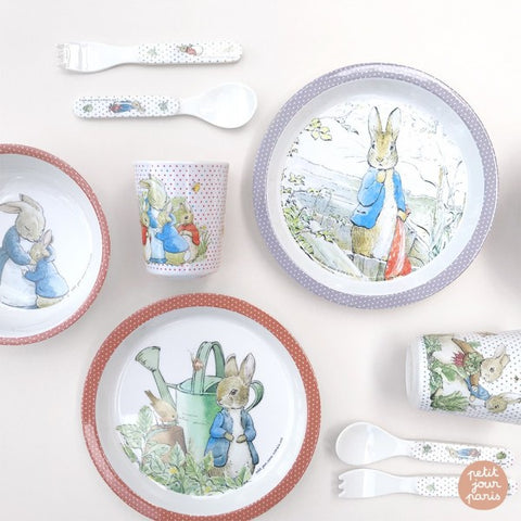 Peter Rabbit Eating Set - 5 Piece Gift Box