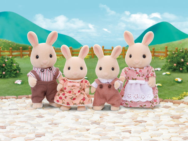 Milk Rabbit Family - Sylvanian Families