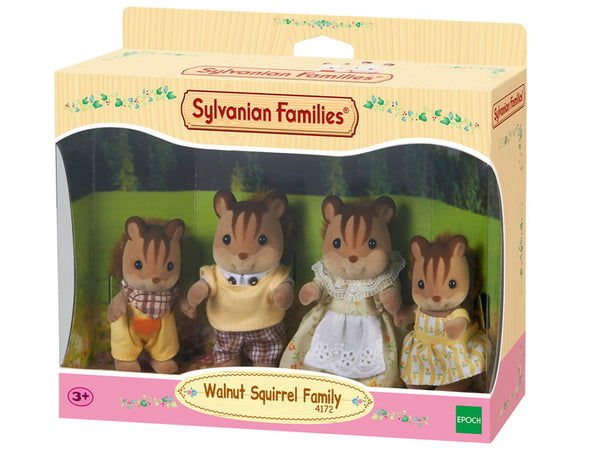 Walnut Squirrel Family - Sylvanian Families