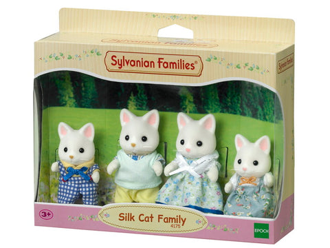 Silk Cat Family - Sylvanian Families
