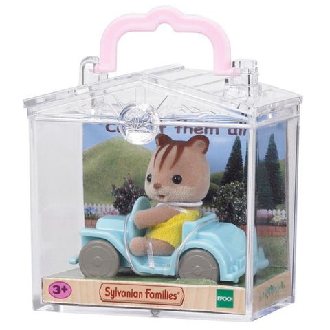 Baby Carry Case (Squirrel on Car) - Sylvanian Families