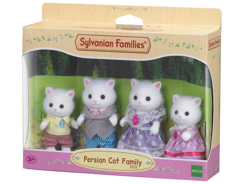Persian Cat Family - Sylvanian Families