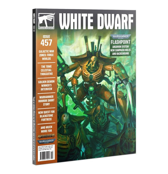 White Dwarf Magazine - 458- Warhammer - Back Editions available