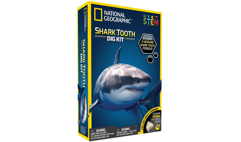 Shark Teeth Dig Kit by National Geographic  - STEM