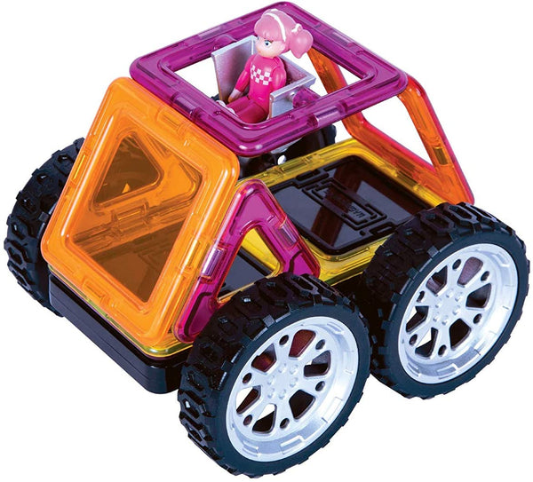 Magformers Vehicle Rally Kart Racer 8 Set - Boy or Girl