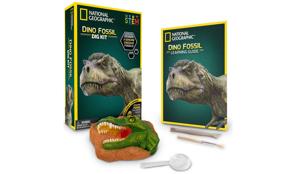 Dinosaur Fossil Dig Kit by National Geographic - STEM