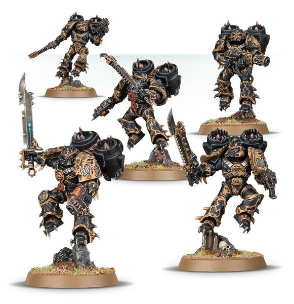 Chaos Space Marines Raptors - Warhammer 40,000