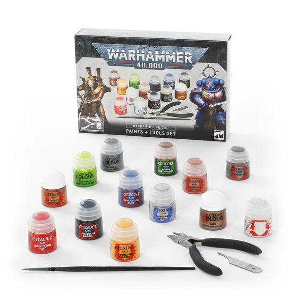 Warhammer 40,000 Paints & Tools Set