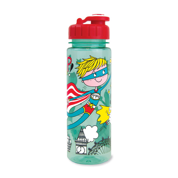 Children's Water Bottle - Super Hero - Rachel Ellen Designs