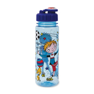 Children's Water Bottle - Football - Rachel Ellen Designs
