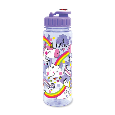 Children's Water Bottle - Unicorns & Rainbows - Rachel Ellen Designs