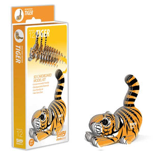 Tiger - 12 - Build your own 3D Model  - Eugy