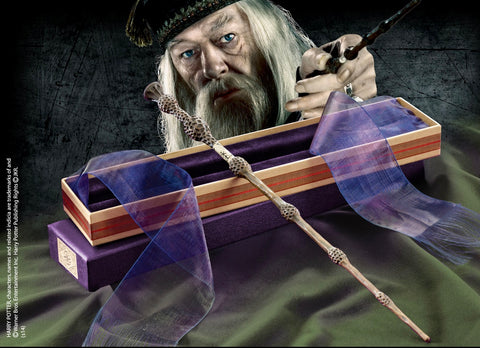 Professor  Dumbledore's Wand in an Olivanders Box - Harry Potter