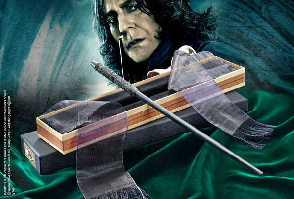 Professor Snape's Wand in an Olivanders Box - Harry Potter