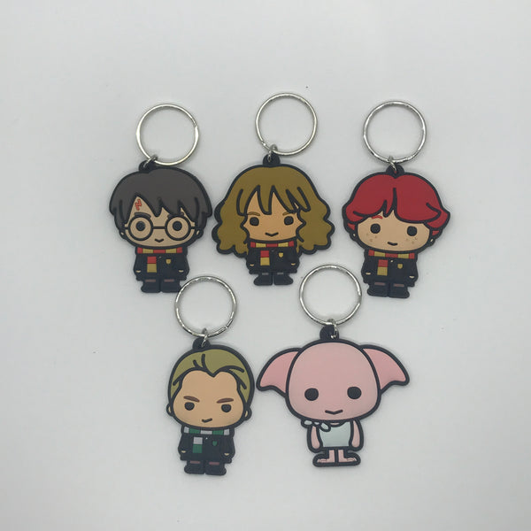 Harry Potter Character Key Rings