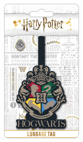Hogwarts Luggage Tag - Harry Potter