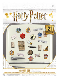Wizardry Harry Potter Magnet Set